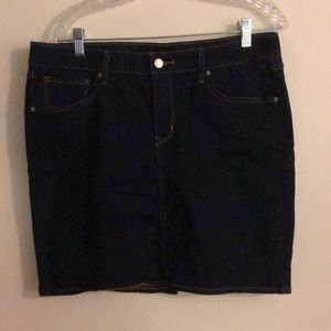 Levi's Denim Mini Skirt Sz 31